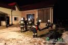 Ogień na poddaszu budynku mieszkalno-gospodarczego!