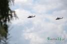 Potężne śmigłowce Mi2 i Mi24 ćwiczą nad naszymi głowami
