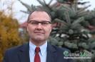 Poseł na Sejm RP Andrzej Romanek składa życzenia mieszkańcom gminy Łużna (TV)