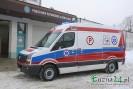 Stacja Pogotowia Ratunkowego w Łużnej ma nowy ambulans