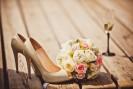 """""""Różowe buty do ślubu"""""""