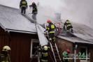 Szalowa: Pożar budynku mieszkalnego. Rodzina została bez dachu nad głową