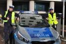 Jednym z policjantów, którzy eskortowali samochód z chorym niemowlęciem był mieszkaniec naszej gminy!