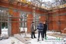 Mury Wiejskiego Domu Kultury w Biesnej pną się do góry!