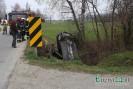 Mszanka: samochód wpadł do rzeki!