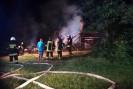 Pożar pustostanu w Szalowej gasiło 6 zastępów. Wszystko wskazuje, że było to podpalenie!