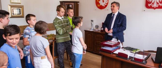 Ponad 150 dzieci odwiedziło Urząd Gminy podczas Dnia Otwartego