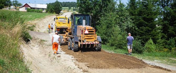 Gmina Łużna: ponad 2,2km dróg gminnych będzie miało nową nawierzchnię