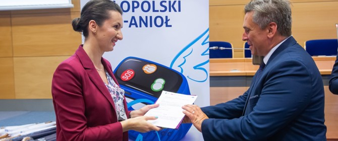 Małopolski Tele-Anioł trafi do seniorów gminy Łużna!