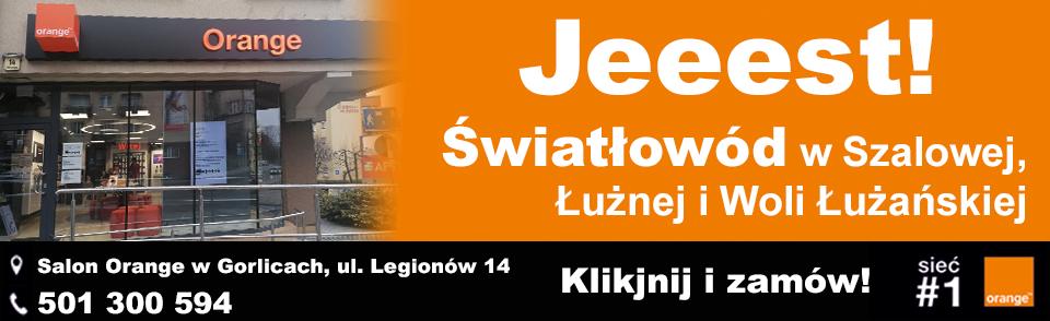 Internet Światłowodowy Łużna, Szalowa, Wola Łużańska