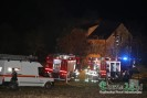 Szalowa (przysiółek Górzyna): strażacy walczą z pożarem domu!