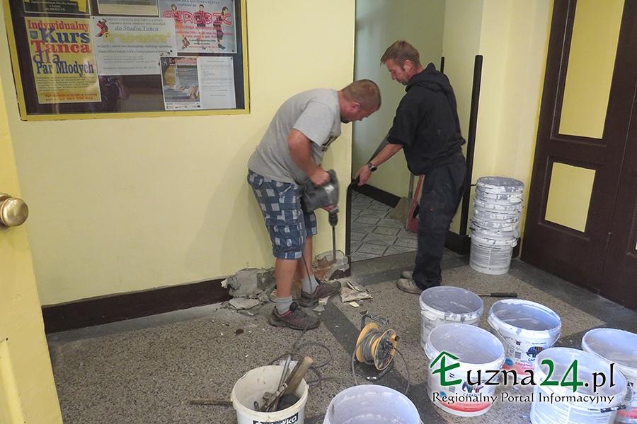 min-prace-remontowe-GOK-Luzna